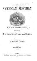 The American Monthly Knickerbocker