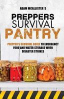 Prepper s Survival Pantry