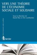 Pdf Vers une théorie de l'économie sociale et solidaire Telecharger