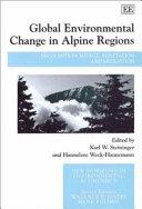 Global Environmental Change in Alpine Regions