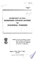 Government of India Subsidised Housing Scheme for Industrial Workers.epub