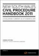 Cover of NSW Civil Procedure Handbook