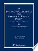 International Business and Economics ('10 Doc Suppl)