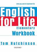 English for Life  Elementary  Workbook without Key