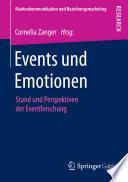 Events und Emotionen  : Stand und Perspektiven der Eventforschung