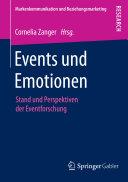 Events und Emotionen: Stand und Perspektiven der Eventforschung