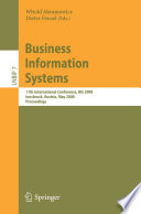 Business Information Systems  : 11th International Conference, BIS 2008, Innsbruck, Austria, May 5-7, 2008, Proceedings