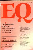 Pdf The Evangelical Quarterly