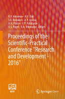 Pdf Proceedings of the Scientific-Practical Conference