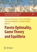 Pareto Optimality  Game Theory and Equilibria