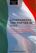 Governments and Parties in Italy