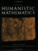 Essays in Humanistic Mathematics