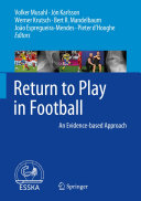 Pdf Return to Play in Football Telecharger