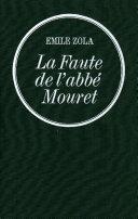 Pdf La Faute de l'abbé Mouret Telecharger
