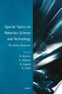 Special Topics on Materials Science and Technology   The Italian Panorama