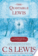 The Quotable Lewis Book PDF