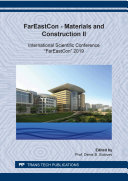 FarEast?on - Materials and Construction II