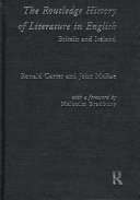 The Routledge History of Literature in English