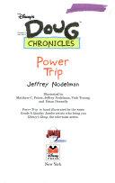 Disney s Doug Chronicles  5  Power Trip  School Market Edition