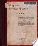 The Exodus of 1847