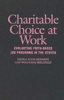 Charitable Choice at Work Pdf/ePub eBook