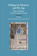 Pdf Philippe de Mézières and His Age