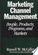 Marketing Channel Management