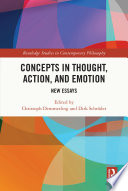 Concepts in Thought  Action  and Emotion Book