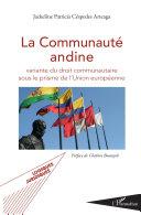 Pdf La Communauté andine Telecharger