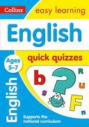 English Quick Quizzes Ages 5-7