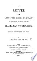 A Letter To The Laity Of The Church Of England On Some Points Connected With The Tractarian Controversy Etc Book PDF