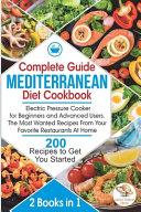 Complete Guide Mediterranean Diet Cookbook