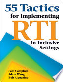 55 Tactics for Implementing RTI in Inclusive Settings