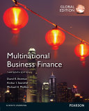 Multinational Business Finance  Global Edition