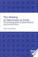 The Making Of Americans In Paris
