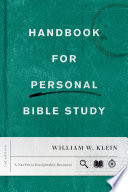 Handbook for Personal Bible Study Second Edition