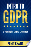 Intro to GDPR