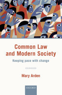 Common Law and Modern Society