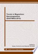 Trends in Magnetism  Nanomagnetism  EASTMAG 2013