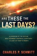 Are These the Last Days? [Pdf/ePub] eBook