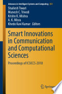 Smart Innovations in Communication and Computational Sciences