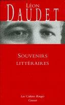 Pdf Souvenirs littéraires Telecharger