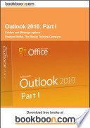 Outlook 2010 Part I