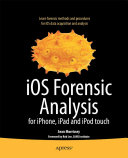 iOS Forensic Analysis Book