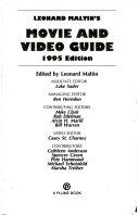 Leonard Maltin S Movie And Video Guide 1995