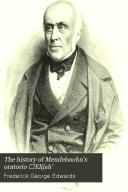 The History of Mendelssohn s Oratorio   Elijah