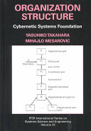 Organization Structure  Cybernetic Systems Foundation