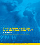 Analyzing English in a Global Context