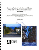 Community Readiness for Environmental Change