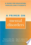 A Primer On Mental Disorders Book PDF